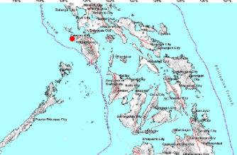 3.5-magnitude quake hits Occidental Mindoro