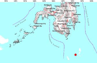 3.2-magnitude quake hits Davao Occidental