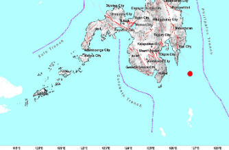 3.5-magnitude quake hits Davao Oriental