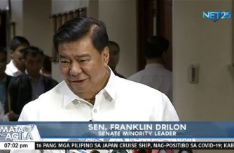 Senator Drilon seeks franchise extension of ABS-CBN until end of 2022