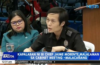 Morente's performance to be discussed in next Cabinet meeting — Palace