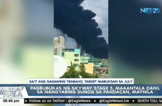 Opening of Skyway-stage 3 to open this July, instead of March, due to damage from Pandacan blaze