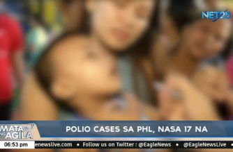 PHL polio cases hit 17 with latest infection in N. Ecija; Butuanon River in Cebu also test positive for poliovirus