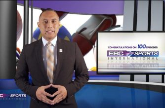Eagle Broadcasting Corporation Sports International (EBCSI) New Jersey host, Rod Dela Paz