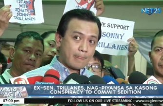 Trillanes posts bail in conspiracy to commit sedition case