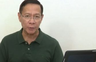 Health Secretary Francisco Duque III holds a virtual pressser announcing new coronavirus cases on Thursday, March 26, 2020.  (Screenshot from DOH Facebook page/Courtesy DOH)