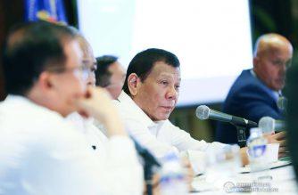 File photo.  President Rodrigo Duterte. /Courtesy Malacanang