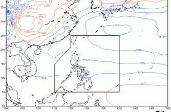 Cloudy skies, isolated rainshowers in Davao Region, S. Cotabato, Sarangani as trough of LPA affects S. Mindanao