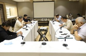 The Palace, Senate and House of Representatives met on Saturday, March 21, to discuss the passage of the COVID-19 supplemental budget./Senator Bong Go/