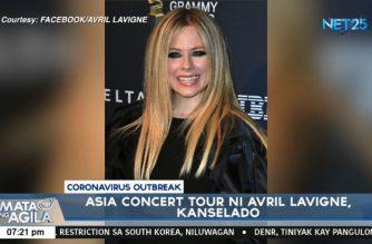 Asia concert tour ni Avril Lavigne, kanselado dahil sa pangamba ng COVID-19