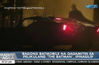 """Bagong """"batmobile"""" na gagamitin sa pelikulang 'The Batman', pinasilip"""