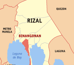 Binangonan, Rizal confirms first COVID-19 case