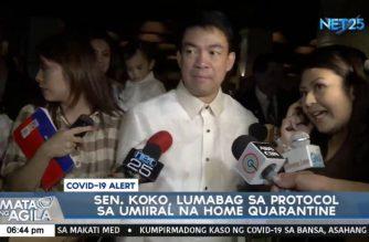DOH Sec. Duque agrees with MMC, says Sen. Pimentel violated quarantine protocols