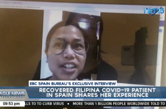 EBC Exclusive:  Filipina patient recovering from COVID-19 in Spain tells story to give hope to others