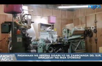 Pagawaan ng pekeng sigarilyo sa Zamboanga del Sur, sinalakay ng mga awtoridad