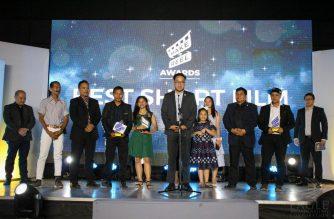Make It Reel participants receiving an award. (Photo by : Lovelyann/EBC)
