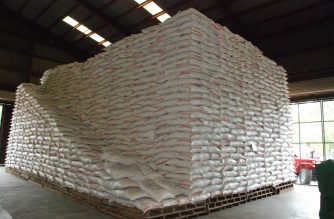 There is enough rice supply for Metro Manila, according to the Department of Agriculure.  (Photo courtesy Department of Agriculture)