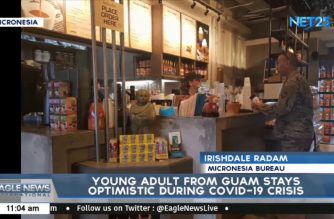 WATCH: Young adult form Guam stays optimistic amidst crisis