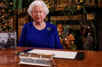 "(FILES) In this file photo taken on December 23, 2019 shows Britain's Queen Elizabeth II posing for a photograph after she recorded her annual Christmas Day message in Windsor Castle, west of London. - Queen Elizabeth II will make a special broadcast this weekend to Britain and the Commonwealth on the coronavirus pandemic, Buckingham Palace said on Apri 3, 2020. ""The televised address will be broadcast at 8pm (1900 GMT) on Sunday 5th April, 2020. The pre-recorded address was recorded at Windsor Castle,"" a statement said. (Photo by Steve Parsons / POOL / AFP)"