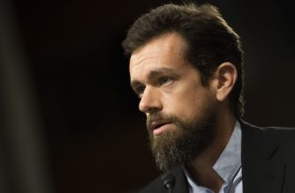(FILES) In this file photo taken on September 05, 2018 CEO of Twitter Jack Dorsey testifies before the Senate Intelligence Committee on Capitol Hill in Washington, DC. - Twitter co-founder and chief executive Jack Dorsey said March 7, 2020 he was committing $1 billion of his personal fortune to coronavirus relief through his philanthropic fund. (Photo by Jim WATSON / AFP)