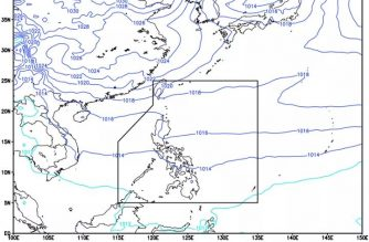 Cloudy skies, rains forecast in PHL today