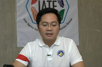 "Cabinet secretary Karlo Nograles gives a ""Laging Handa"" virtual presser announcing the recommendations approved by the Inter-Agency Task Force on Emerging Infectious Diseases on Thursday, April 2, 2020.  (Screenshot from RTVM video/Courtesy RTVM)"