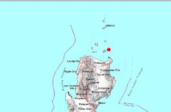 3.9-magnitude quake hits Cagayan