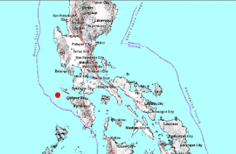 3.0-magnitude quake hits Occidental Mindoro