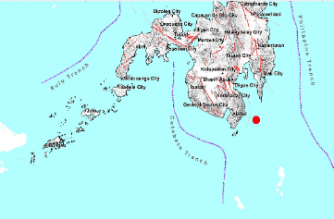 3.4-magnitude quake hits Davao Occidental