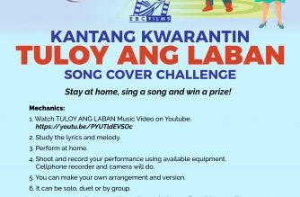 Kantang Kwarantin: Stay at home, SING and win a prize!