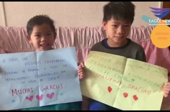 Watch:  Filipino kids in Spain show their appreciation for COVID-19 frontliners