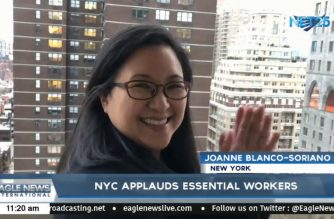 WATCH: NYC applauds essential workers