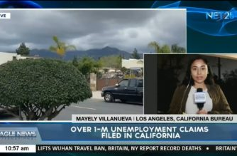 WATCH: Over 1-M unemployment claims filed in California