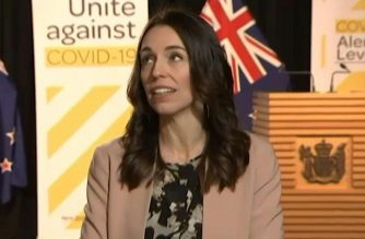 A moderate 5.6-magnitude earthquake rattled New Zealand's North Island early Monday but failed to crack Prime Minister Jacinda Ardern's trademark composure as she conducted a live television interview. Screengrab of TV3 video as provided by Agence France Presse(Courtesy TV3/AFP)