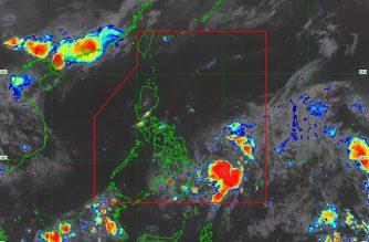 "PAGASA: ""Ambo"" maintains strength, may intensify into tropical storm"