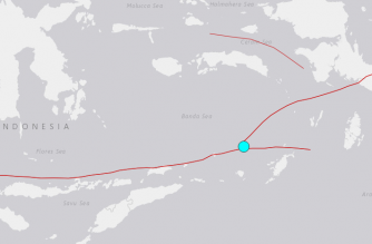 6.8 magnitude quake strikes in Indonesia's Banda Sea, no tsunami alert