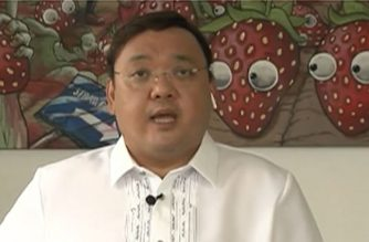 Presidential Spokesperson Harry Roque announces the latest news from the Inter-Agency Task Force on Emerging Infectious Diseases (IATF-EID) on May 9, 2020 (Screengrab of PCOO video/Courtesy PCOO)