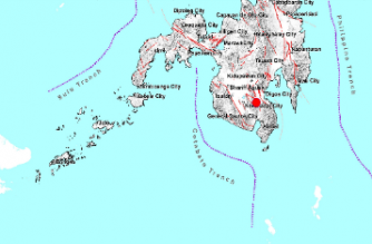 4.0-magnitude quake hits Davao del Sur
