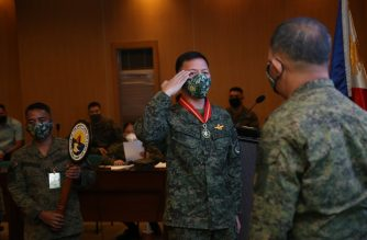 The Armed Forces of the Philippines on Tuesday, May 26, named Lt. Gen. Gloria as the next chief of the Western Command./AFP/