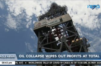 Oil collapse wipes out profits at Total