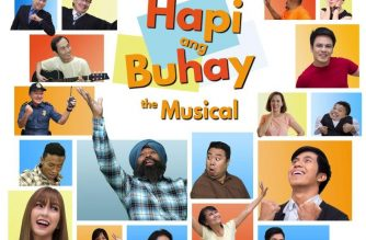 Promotional movie poster of 'HAPI ANG BUHAY The Musical'