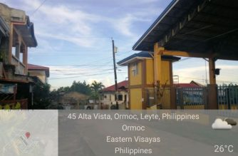 Weather as of 6:16 a.m., May 13, Wednesday, in Ormoc, Leyte from Eagle News Service correspondent Cesar Sotto
