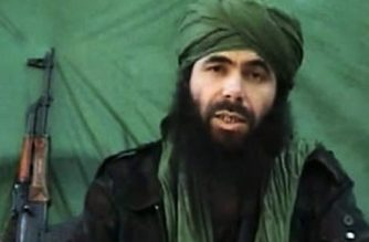 """(FILES) This undated handout file photo taken on July 26, 2010 apparently shows Al-Qaeda in the Islamic Maghreb (AQIM) chief Abdelmalek Droukdel, aka Abu Musab Abdul Wadud speaking at an unknown location. - Al-Qaeda in the Islamic Maghreb (AQIM) chief Abdelmalek Droukdel was killed on June 5, 2020 in Mali. (Photo by - / Hand-Out / AFP) / RESTRICTED TO EDITORIAL USE - MANDATORY CREDIT """"AFP PHOTO/ HO"""" - NO MARKETING - NO ADVERTISING CAMPAIGNS - DISTRIBUTED AS A SERVICE TO CLIENTS"""