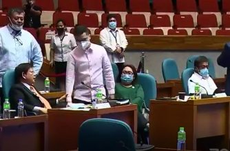 A scene during the continuation of the House of Representatives joint committee hearing on the renewal of ABS CBN franchise which expired on May 4, 2020.  (Screengrab of House of Representatives video/Courtesy House of Representatives)