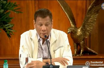 President Rodrigo Duterte addressing the nation on Monday, June 22, 2020 on the COVID-19 situation in the country. (Screengrab of PCOO video)