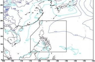 Ridge of HPA extends over N. Luzon; easterlies affect rest of PHL