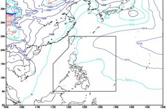 Easterlies affect eastern sections of Visayas, Mindanao