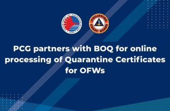 DOTr: OFWs can now have quarantine certificates processed online