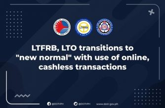 "LTO, LTFRB to have online, cashless transactions under ""new normal"""