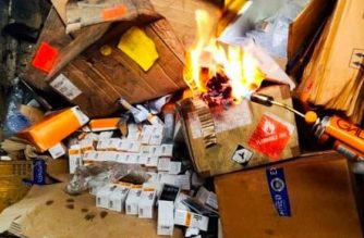 The BOC on Saturday, June 20, destroyed medicines, food and others with no FDA approval./BOC/